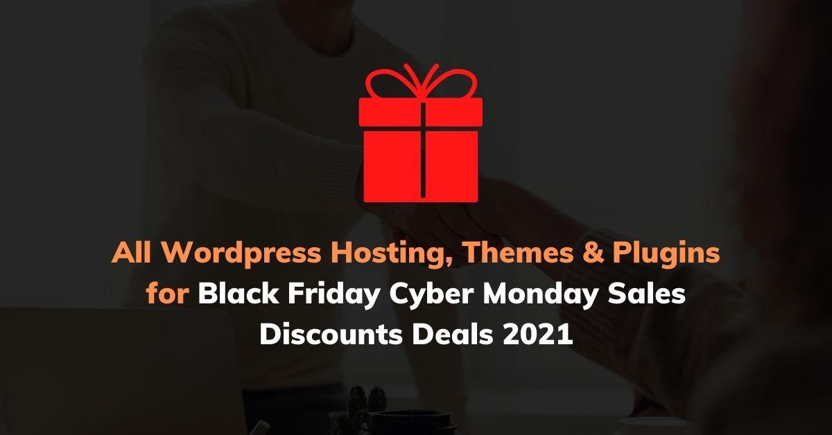 Black Friday Deals 2021