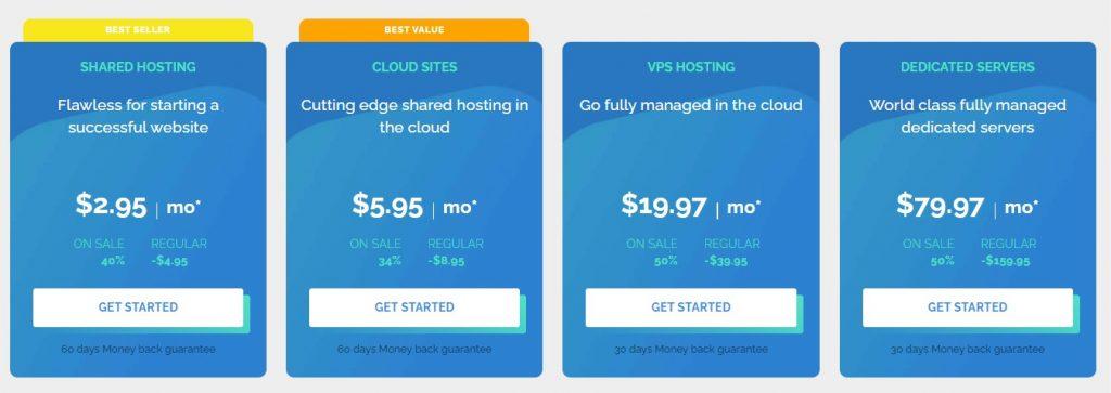 TMD Hosting pricing